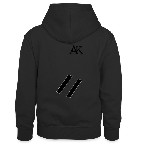 design tee - Teenager contrast-hoodie/kinderen contrast-hoodie