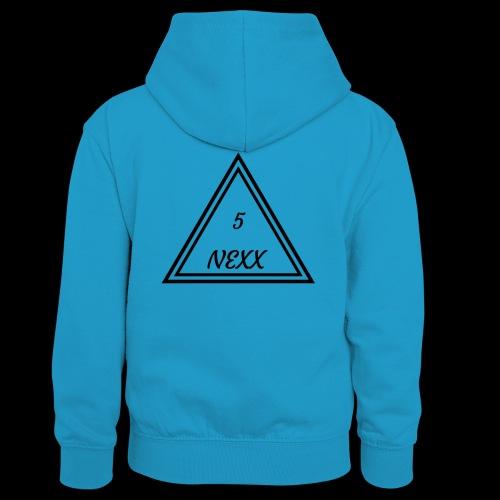 5nexx triangle - Teenager contrast-hoodie/kinderen contrast-hoodie