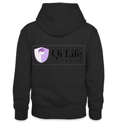 Qi Life Academy Promo Gear - Kids' Contrast Hoodie