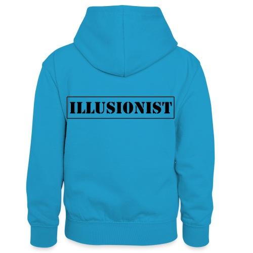 Illusionist - Kids' Contrast Hoodie