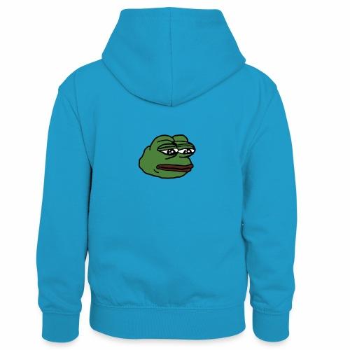 Pepe - Lasten kontrastivärinen huppari