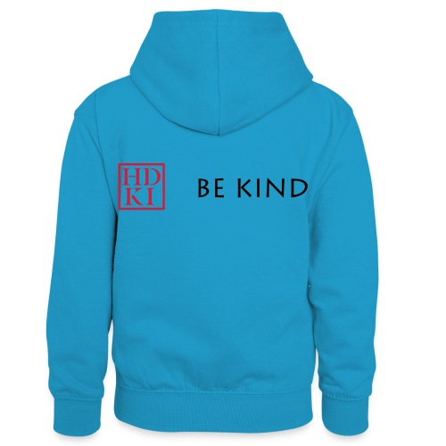 HDKI Be Kind - Kids' Contrast Hoodie