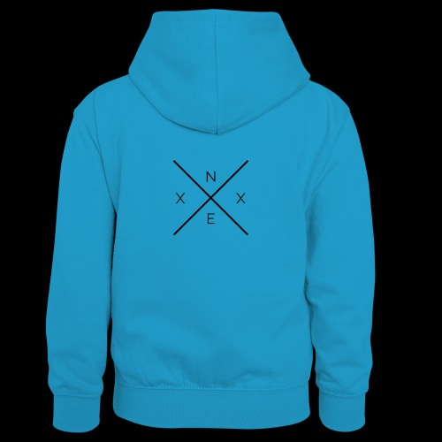 NEXX cross - Teenager contrast-hoodie/kinderen contrast-hoodie