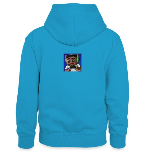 This is the official ItsLarssonOMG merchandise. - Kids' Contrast Hoodie