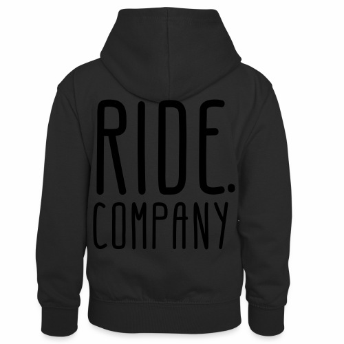 RIDE.company - just RIDE - Kinder Kontrast-Hoodie