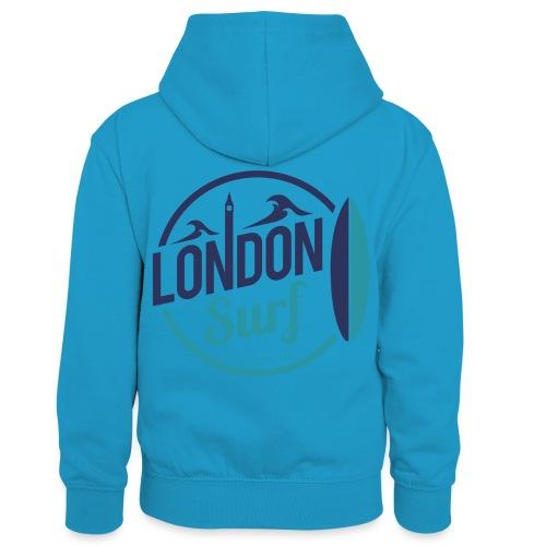 London Surf Classic Logo - Kids' Contrast Hoodie