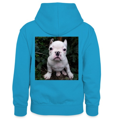 Billy Puppy 2 - Teenager contrast-hoodie/kinderen contrast-hoodie