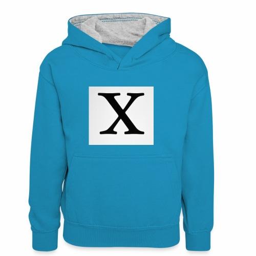THE X - Kids' Contrast Hoodie