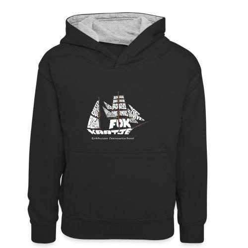 EZS T shirt 2013 Back - Teenager contrast-hoodie/kinderen contrast-hoodie