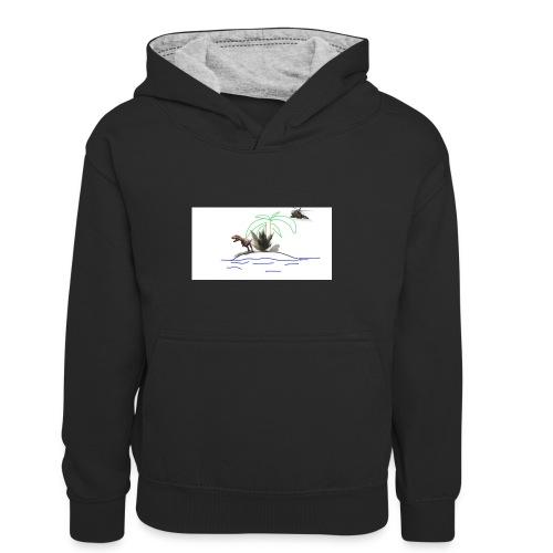 dino - Sudadera con capucha para niños
