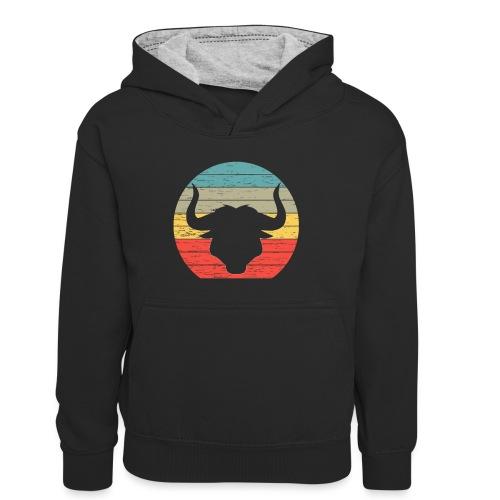 Bull - Teenager contrast-hoodie/kinderen contrast-hoodie