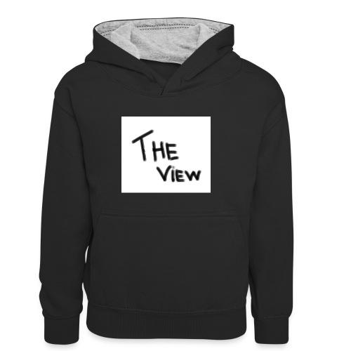 Untitled - Teenager contrast-hoodie/kinderen contrast-hoodie