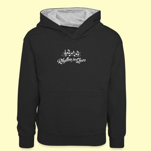 Tanz Rhythmus T-Shirt Geschenk für Tänzer - Kinder Kontrast-Hoodie