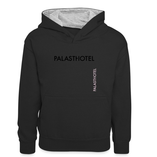 Palasthotel - Kinder Kontrast-Hoodie