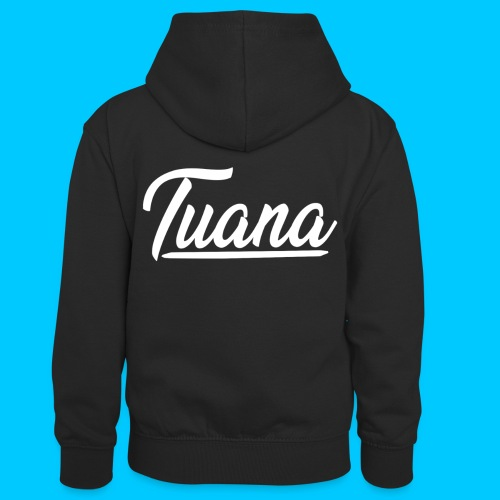 Tuana - Teenager contrast-hoodie/kinderen contrast-hoodie