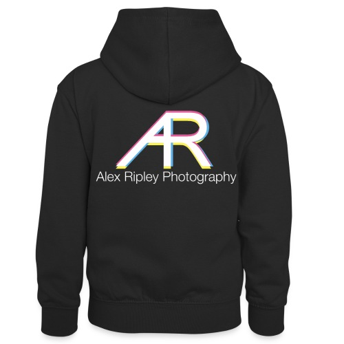 AR Photography - Kids' Contrast Hoodie