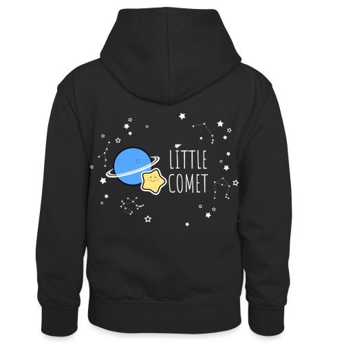 Little Comet - Lasten kontrastivärinen huppari
