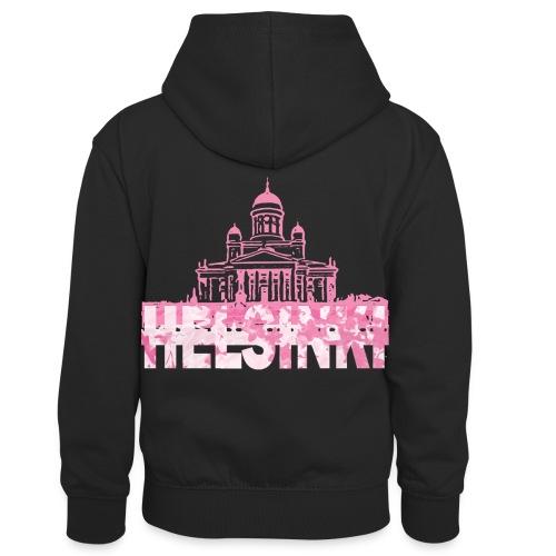 Helsinki Cathedral - Kids' Contrast Hoodie