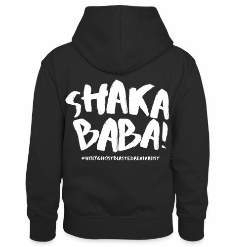 shaka - Lasten kontrastivärinen huppari