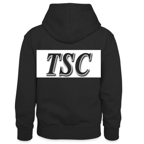 TSC Black Text - Kids' Contrast Hoodie