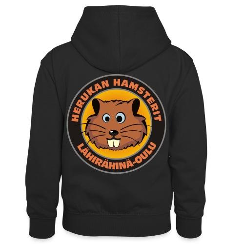 Herukan Hamsterit - Lasten kontrastivärinen huppari
