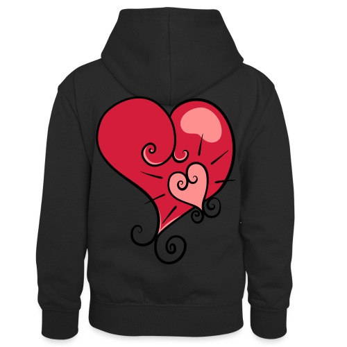 The world's most important. - Kids' Contrast Hoodie