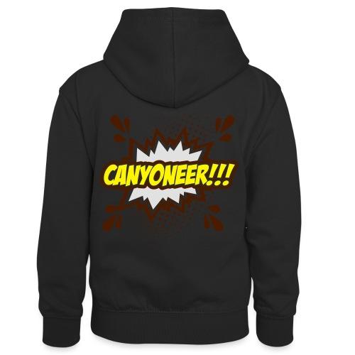 Canyoneer!!! - Kinder Kontrast-Hoodie