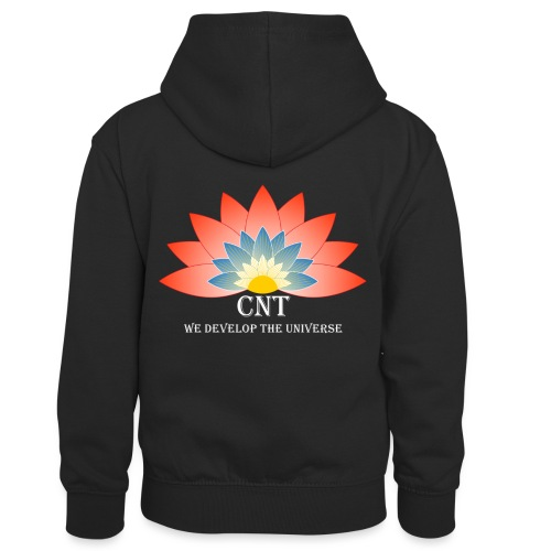 Support Renewable Energy with CNT to live green! - Kids' Contrast Hoodie