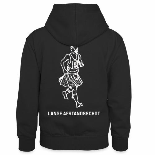 Lange Afstandsschot - Teenager contrast-hoodie/kinderen contrast-hoodie