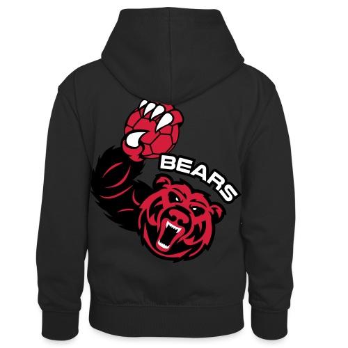 Bears Handball - Sweat à capuche contrasté Enfant