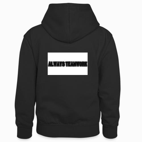 at team - Teenager contrast-hoodie/kinderen contrast-hoodie