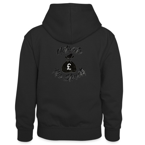 Motivate The Streets - Kids' Contrast Hoodie