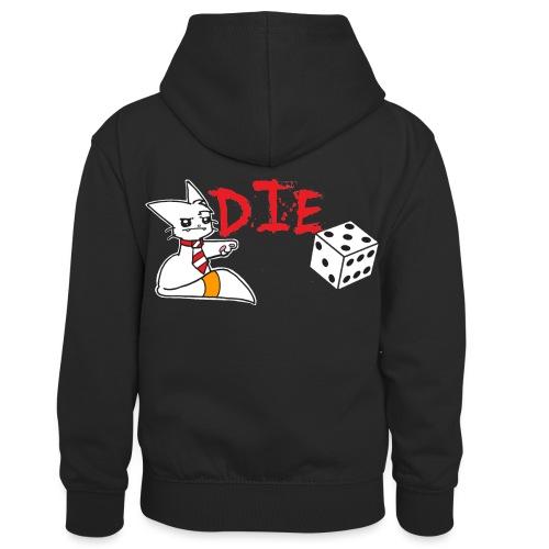 DIE - Kids' Contrast Hoodie
