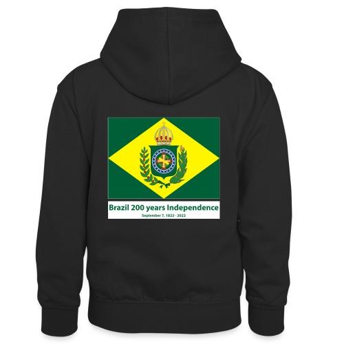 Brazil 200 years independence - Kontrast-hettegenser for barn
