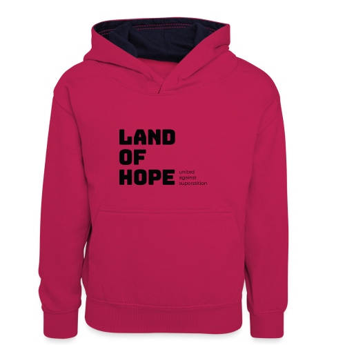 Land of Hope - Kids' Contrast Hoodie
