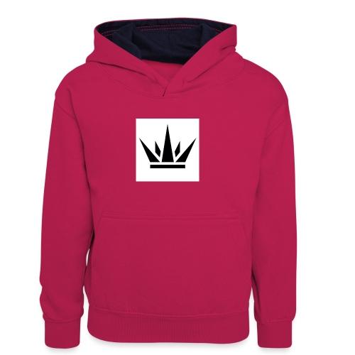 King T-Shirt 2017 - Kids' Contrast Hoodie