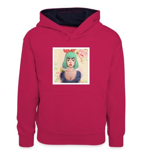 elena of spain - Kids' Contrast Hoodie