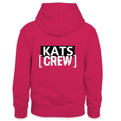 KATS CREW Logo - Dziecięca bluza z kontrastowym kapturem