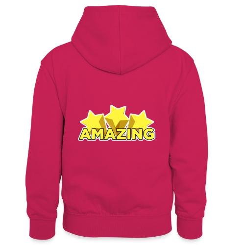 Amazing - Kids' Contrast Hoodie