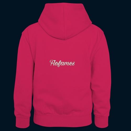 camicia di flofames - Felpa con cappuccio in contrasto cromatico per bambini