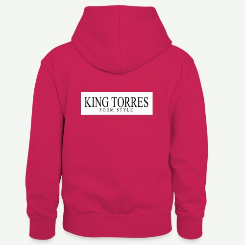 king torres - Sudadera con capucha para niños