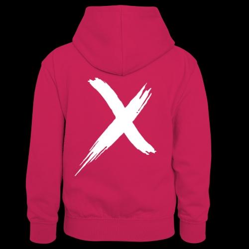 limited edition logo - Teenager contrast-hoodie/kinderen contrast-hoodie