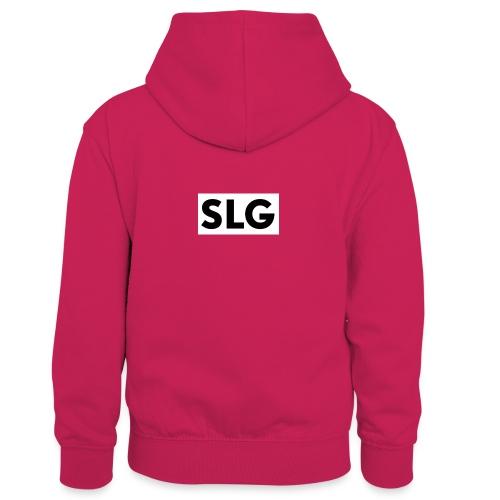 slg - Kids' Contrast Hoodie