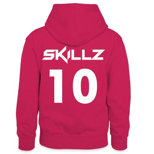 number ten hoodies - Kids' Contrast Hoodie