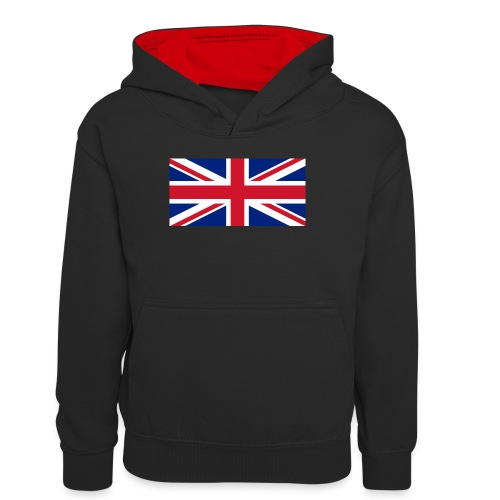 United Kingdom - Teenager Contrast Hoodie