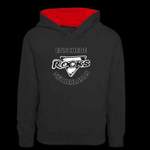 Rocks Enschede NL B-WB - Teenager contrast-hoodie