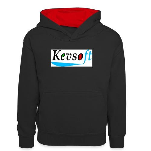 Kevsoft - Teenager Contrast Hoodie