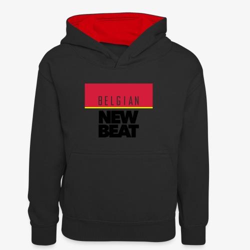 BNB SQ - Teenager contrast-hoodie
