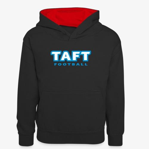 4769739 124019410 TAFT Football orig - Teinien kontrastivärinen huppari