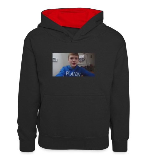 roel t-shirt - Teenager contrast-hoodie